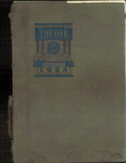 Adamson High School - Oak Yearbook (Dallas, TX) online yearbook collection, 1923 Edition, Page 1