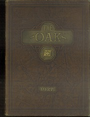 Adamson High School - Oak Yearbook (Dallas, TX) online yearbook collection, 1927 Edition, Page 1