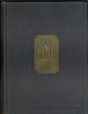 Adamson High School - Oak Yearbook (Dallas, TX) online yearbook collection, 1928 Edition, Page 1