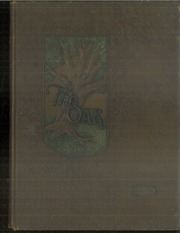 Adamson High School - Oak Yearbook (Dallas, TX) online yearbook collection, 1929 Edition, Page 1