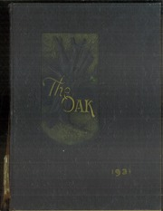 Adamson High School - Oak Yearbook (Dallas, TX) online yearbook collection, 1931 Edition, Page 1
