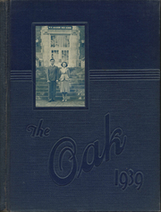 Adamson High School - Oak Yearbook (Dallas, TX) online yearbook collection, 1939 Edition, Page 1