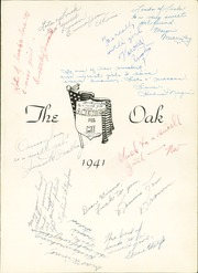 Page 5, 1941 Edition, Adamson High School - Oak Yearbook (Dallas, TX) online yearbook collection