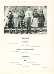 Page 9, 1941 Edition, Adamson High School - Oak Yearbook (Dallas, TX) online yearbook collection