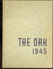 Page 1, 1945 Edition, Adamson High School - Oak Yearbook (Dallas, TX) online yearbook collection