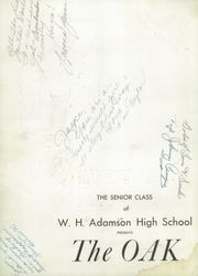 Page 6, 1948 Edition, Adamson High School - Oak Yearbook (Dallas, TX) online yearbook collection