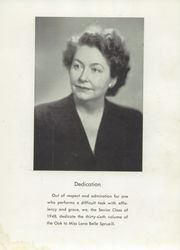 Page 9, 1948 Edition, Adamson High School - Oak Yearbook (Dallas, TX) online yearbook collection