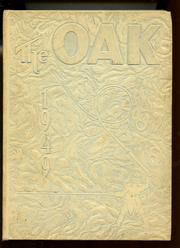 Adamson High School - Oak Yearbook (Dallas, TX) online yearbook collection, 1949 Edition, Page 1