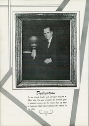 Page 8, 1950 Edition, Adamson High School - Oak Yearbook (Dallas, TX) online yearbook collection