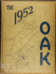 Adamson High School - Oak Yearbook (Dallas, TX) online yearbook collection, 1952 Edition, Page 1