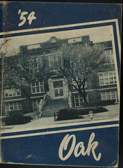 Adamson High School - Oak Yearbook (Dallas, TX) online yearbook collection, 1954 Edition, Page 1
