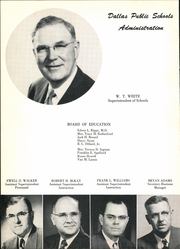 Page 12, 1954 Edition, Adamson High School - Oak Yearbook (Dallas, TX) online yearbook collection