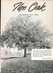 Page 5, 1954 Edition, Adamson High School - Oak Yearbook (Dallas, TX) online yearbook collection