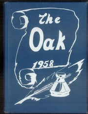 Page 1, 1958 Edition, Adamson High School - Oak Yearbook (Dallas, TX) online yearbook collection