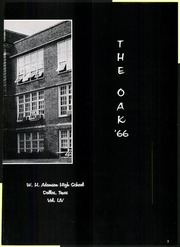 Page 9, 1966 Edition, Adamson High School - Oak Yearbook (Dallas, TX) online yearbook collection