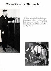 Page 16, 1967 Edition, Adamson High School - Oak Yearbook (Dallas, TX) online yearbook collection