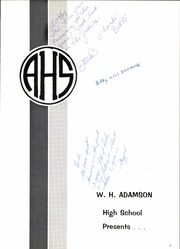 Page 7, 1967 Edition, Adamson High School - Oak Yearbook (Dallas, TX) online yearbook collection