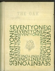 1971 Edition, Adamson High School - Oak Yearbook (Dallas, TX)