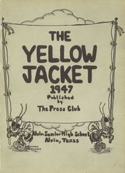 Page 5, 1947 Edition, Alvin High School - Yellow Jacket Yearbook (Alvin, TX) online yearbook collection