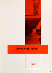 Page 9, 1964 Edition, Alvin High School - Yellow Jacket Yearbook (Alvin, TX) online yearbook collection