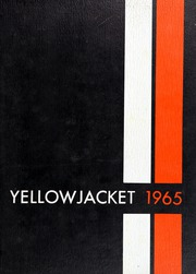 1965 Edition, Alvin High School - Yellow Jacket Yearbook (Alvin, TX)