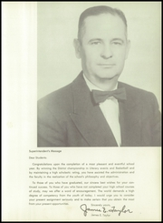 Page 9, 1956 Edition, Katy High School - Tiger Echo Yearbook (Katy, TX) online yearbook collection