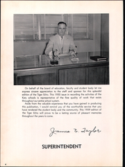 Page 8, 1959 Edition, Katy High School - Tiger Echo Yearbook (Katy, TX) online yearbook collection