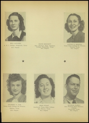 Page 12, 1946 Edition, A C Jones High School - Trojan Yearbook (Beeville, TX) online yearbook collection