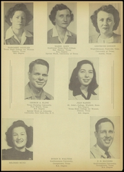 Page 13, 1946 Edition, A C Jones High School - Trojan Yearbook (Beeville, TX) online yearbook collection