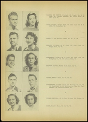 Page 16, 1946 Edition, A C Jones High School - Trojan Yearbook (Beeville, TX) online yearbook collection