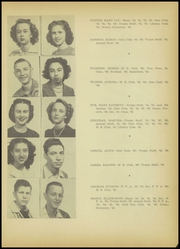 Page 17, 1946 Edition, A C Jones High School - Trojan Yearbook (Beeville, TX) online yearbook collection