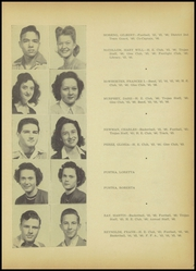Page 19, 1946 Edition, A C Jones High School - Trojan Yearbook (Beeville, TX) online yearbook collection