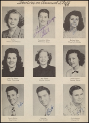 Page 10, 1949 Edition, A C Jones High School - Trojan Yearbook (Beeville, TX) online yearbook collection