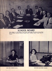 Page 10, 1956 Edition, A C Jones High School - Trojan Yearbook (Beeville, TX) online yearbook collection