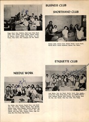 Page 107, 1956 Edition, A C Jones High School - Trojan Yearbook (Beeville, TX) online yearbook collection