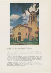 Page 15, 1941 Edition, Lubbock High School - Westerner Yearbook (Lubbock, TX) online yearbook collection