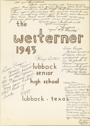 Page 7, 1943 Edition, Lubbock High School - Westerner Yearbook (Lubbock, TX) online yearbook collection