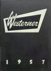 1957 Edition, Lubbock High School - Westerner Yearbook (Lubbock, TX)