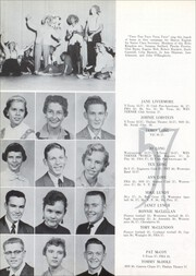 Page 62, 1957 Edition, Lubbock High School - Westerner Yearbook (Lubbock, TX) online yearbook collection