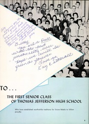 Page 9, 1958 Edition, Thomas Jefferson High School - Document Yearbook (Dallas, TX) online yearbook collection