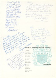 Page 5, 1962 Edition, Thomas Jefferson High School - Document Yearbook (Dallas, TX) online yearbook collection