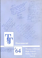 Page 7, 1964 Edition, Thomas Jefferson High School - Document Yearbook (Dallas, TX) online yearbook collection