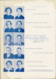 Page 10, 1940 Edition, Denton High School - Bronco Yearbook (Denton, TX) online yearbook collection