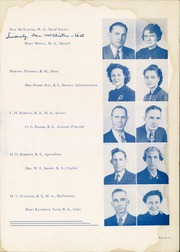 Page 11, 1940 Edition, Denton High School - Bronco Yearbook (Denton, TX) online yearbook collection