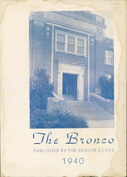Page 5, 1940 Edition, Denton High School - Bronco Yearbook (Denton, TX) online yearbook collection