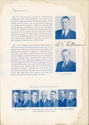 Page 9, 1940 Edition, Denton High School - Bronco Yearbook (Denton, TX) online yearbook collection