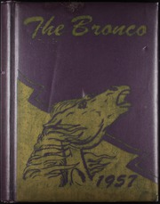 Page 1, 1957 Edition, Denton High School - Bronco Yearbook (Denton, TX) online yearbook collection