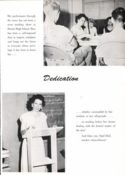 Page 9, 1957 Edition, Denton High School - Bronco Yearbook (Denton, TX) online yearbook collection