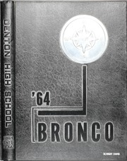Page 1, 1964 Edition, Denton High School - Bronco Yearbook (Denton, TX) online yearbook collection