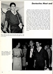 Page 10, 1964 Edition, Denton High School - Bronco Yearbook (Denton, TX) online yearbook collection